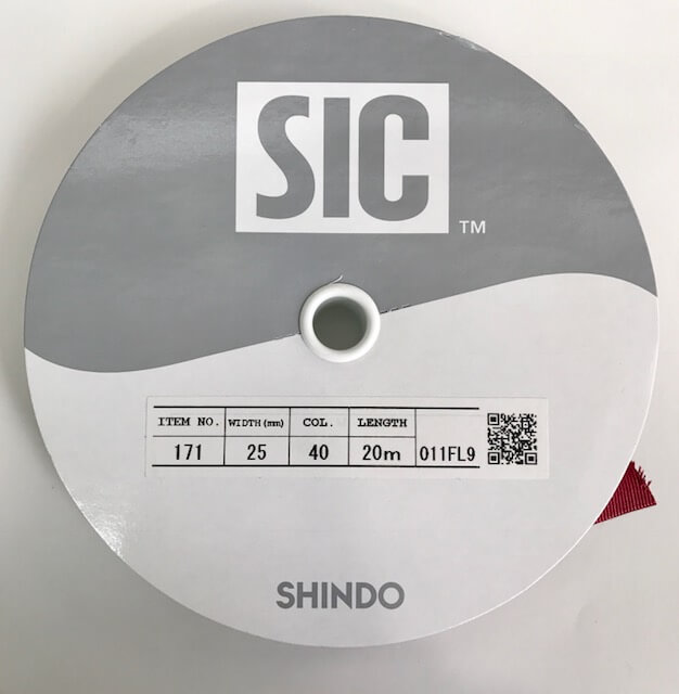SIC-171:サテン&グログランリボン(30m巻販売)