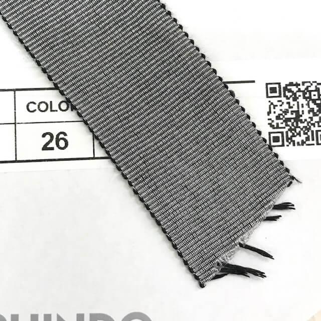 SIC-182:シャンブレーペタシャムリボン(m販売)