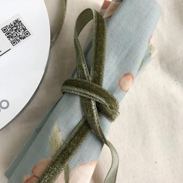 SIC-108:片面別珍リボン(m販売)