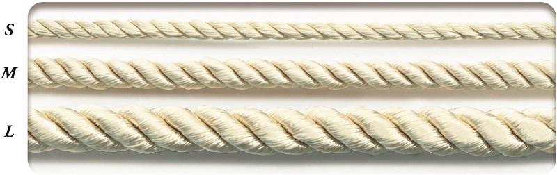SIC-3040:レーヨンツイストコード(30m/50m巻販売)