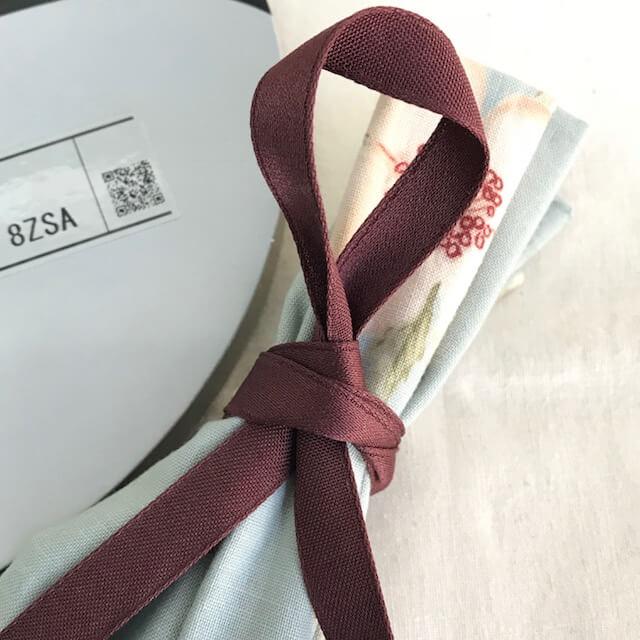 SIC-142:コットン片面サテンリボン(30m巻販売)