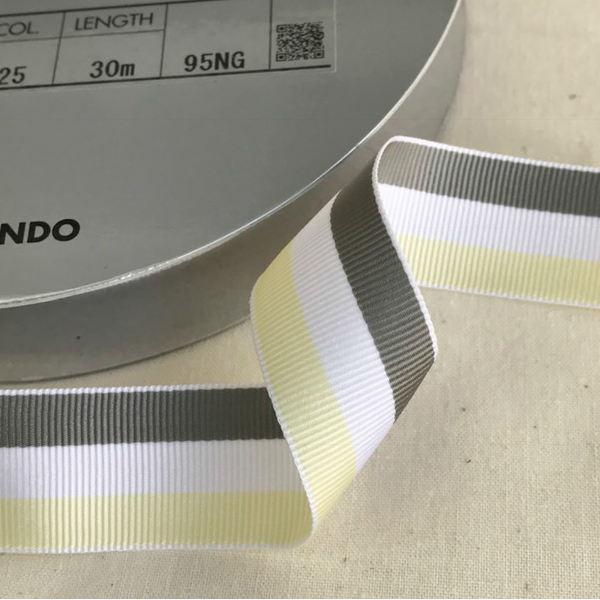 SIC-1000:ストライプグログランリボン(30m巻販売)
