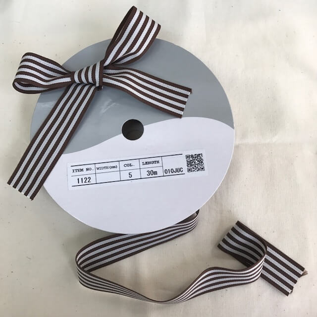 SIC-1122:ストライプグログランリボン(m販売)