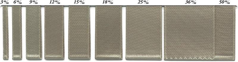 SIC-120:ポリエステル片面サテンリボン(30m巻販売)
