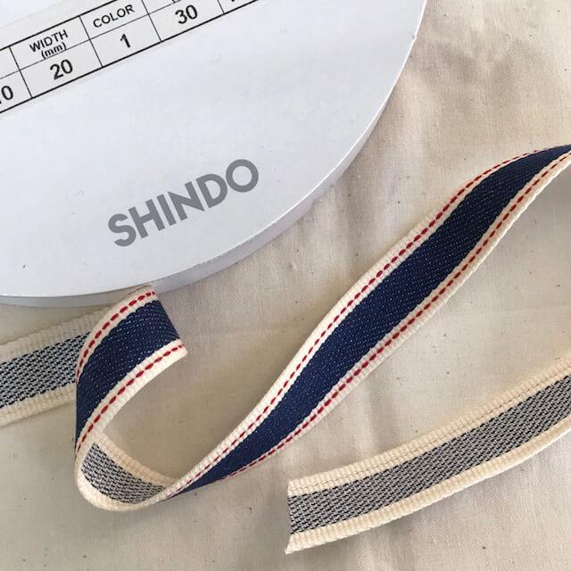 SIC-2110:コットンデニムテープ(m販売)