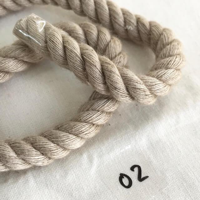 SIC-3042:麻レーヨンツイストコード(m販売)