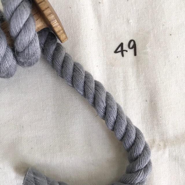 SIC-3042:麻レーヨンツイストコード(30m巻販売)