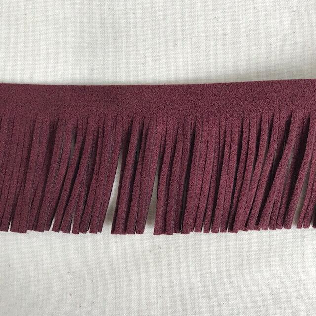 SIC-8861:ウルトラスエードフリンジ/2MM巾 (m販売)