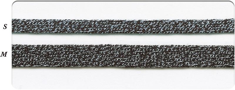 SIC-3057:杢調平コード/袋紐 (m販売)