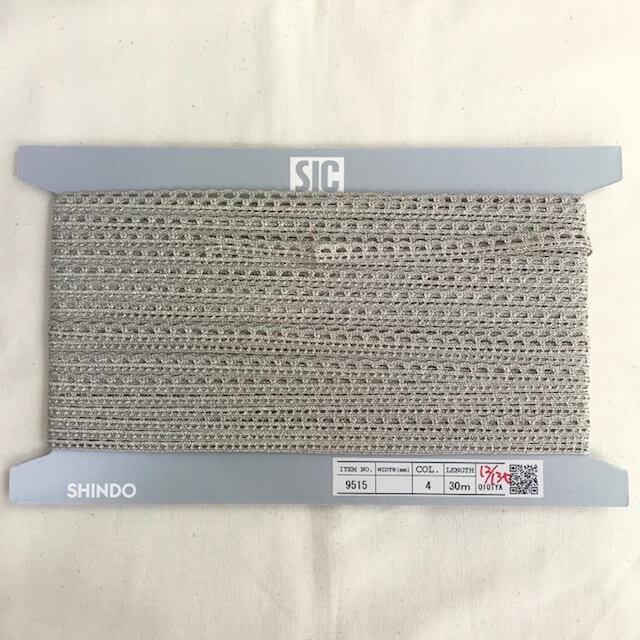 SIC-9515:アンティークメタリックトリミングブレード(30m巻販売)