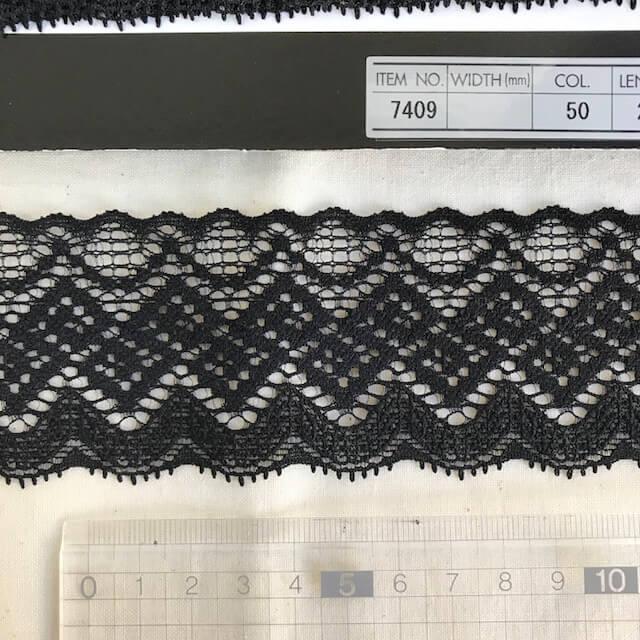 SIC-7409:ストレッチトリミングレース(m販売)