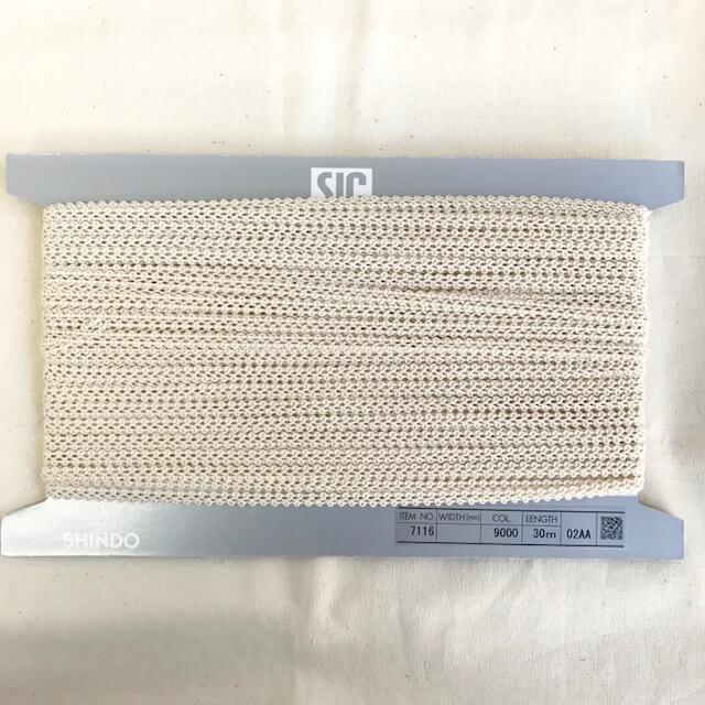 SIC-7116:コットンレースブレード(30m巻販売)