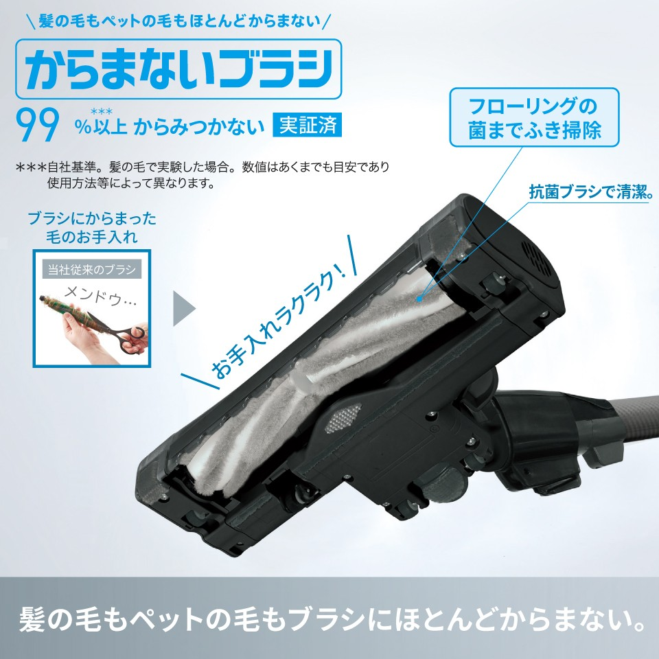 Panasonic パナソニック サイクロン式 掃除機 ダブルメタル プチサイクロン MC-SR580K-T エレガンスブラウン JAN:4549980646601【北海道・沖縄・離島は送料別途】-NA