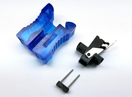 MTコネクタでの測定で仮接続が早く簡単に出来る MTコネクタ用ワンタッチアダプタ