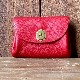 L1627 small wallet red