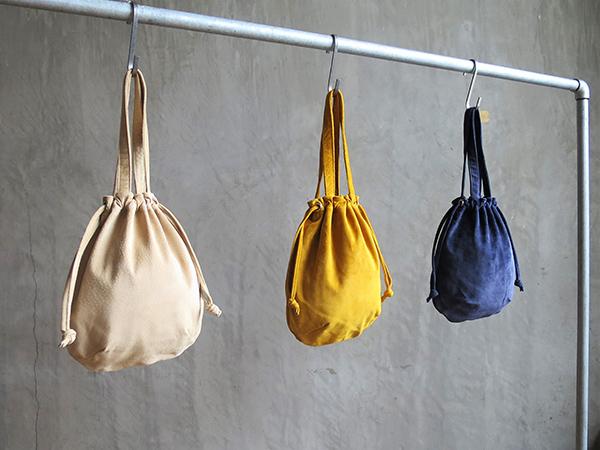 L1725 ウォッシャブル(洗えるレザー) ウリングトートバッグ ベージュ [washable wring tote bag / beige]