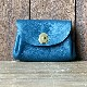 L1627 small wallet cerulean