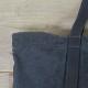 L1410 製品染めキャンパスワークトート ブラック [canvas work tote /black]