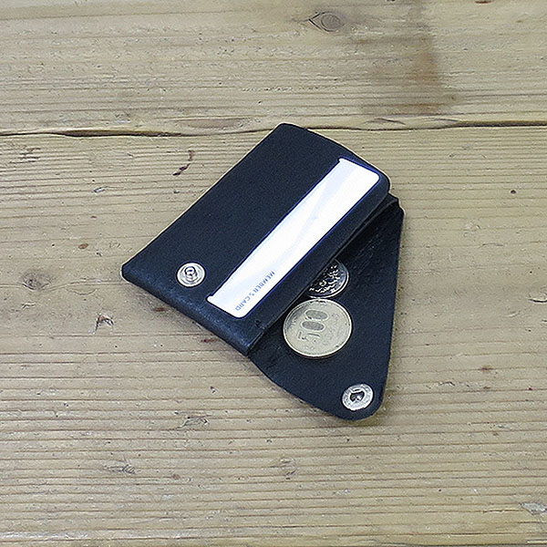 L1839コンパクトウォレット ブラック [compact wallet black]