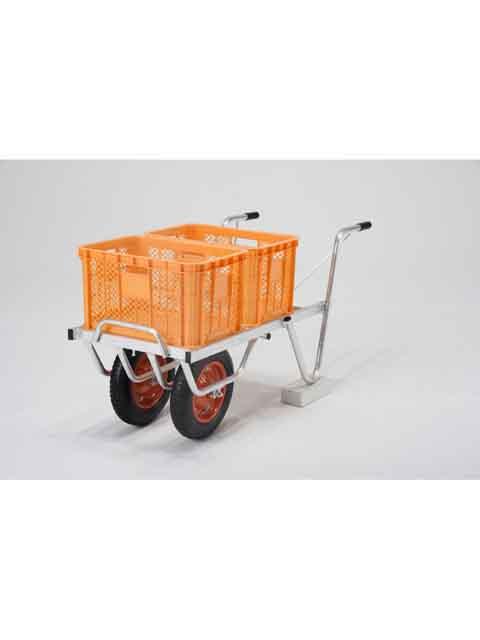 アルミ製台車 コンテナカー SKX-02W