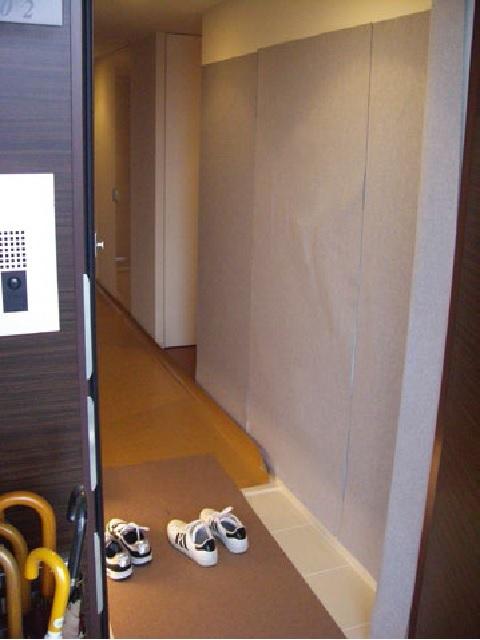 吸着養生シート クロス壁面用 900mmx1800mm 10巻