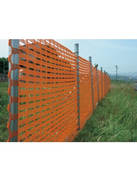 フェンスネット 1×50m オレンジ/青/緑