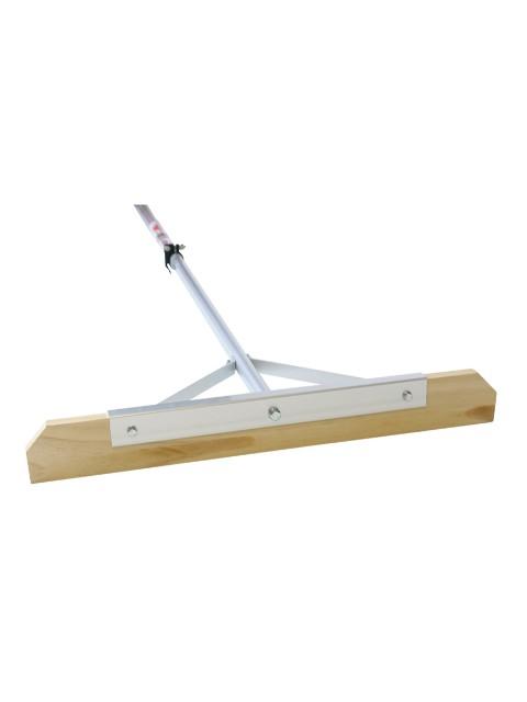 金象印 伸縮式木製替板式レーキ アルミP柄