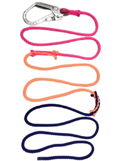 ナビゲーションロープ 三色エンドレス(蛍光)