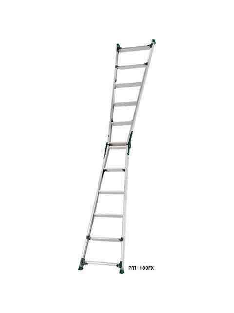 伸縮脚付はしご兼用脚立 PRT-180FX