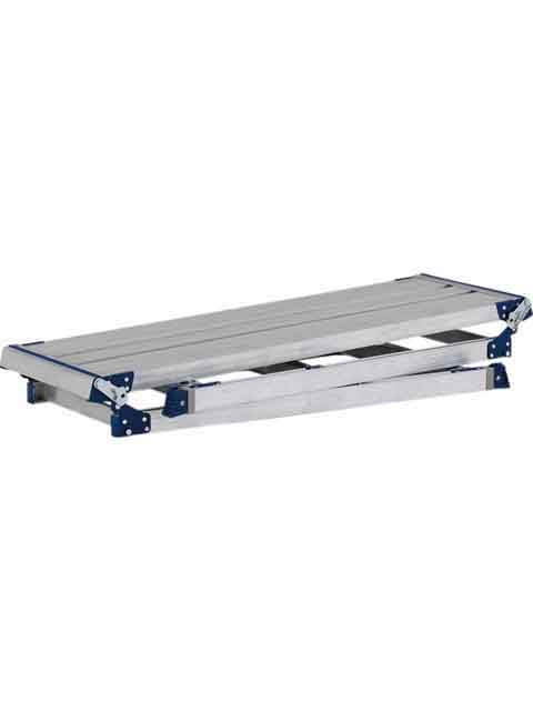 伸縮脚付足場台 PXGE-W  天板幅400mmタイプ 天板高さ 1.01〜1.45m PXGE-1014WX