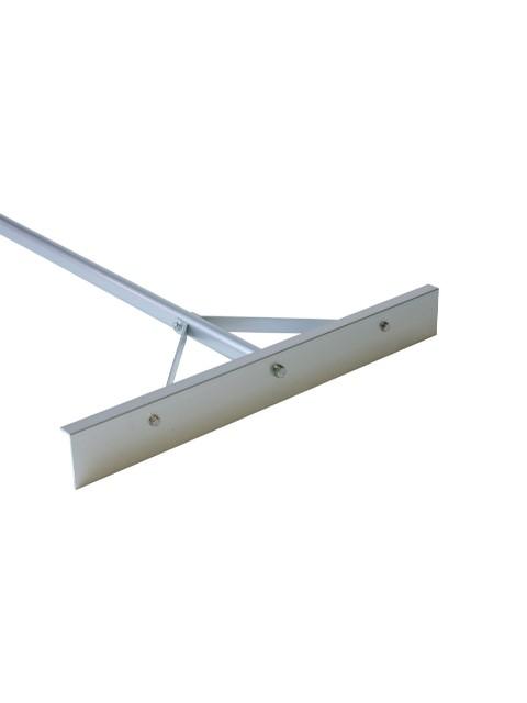 金象印 伸縮式アルミ板レーキ替刃式 アルミP柄