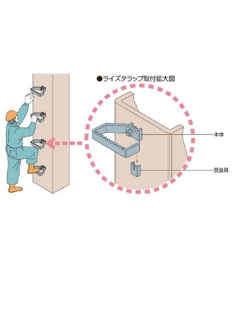 ライズタラップ�型(本体)/受金具