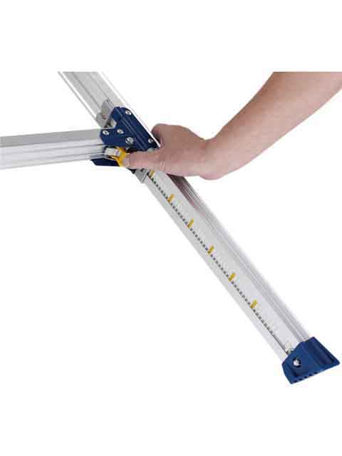 伸縮脚付足場台 PXGE-FK  天板幅300mmタイプ 天板高さ 0.72〜1.02m PXGE-712FX