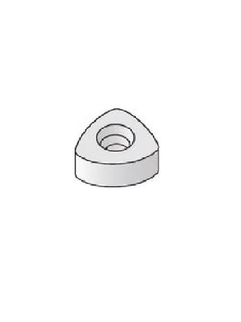 開先加工機用チップ ハタリー精密 SHD 内接円Φ14×6.35 1ケース(10ヶ入)