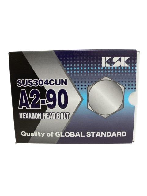 SUS304CUN 高強度ステンレスファスナー A2-90六角ボルト M6