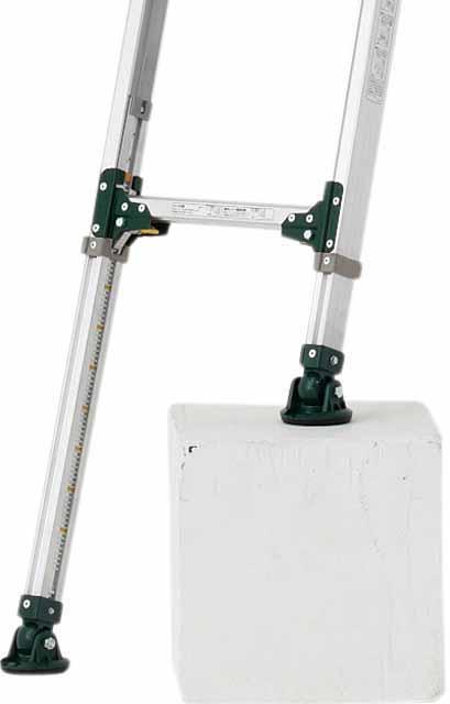 伸縮脚付2連はしご(電柱仕様) ANE-47FX