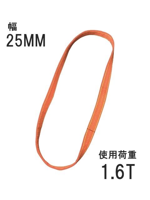 ベルトスリング 25mm エンドレス型(パワースリング KP-2型)