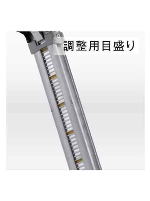 伸縮脚付はしご兼用脚立 PRW-120FX
