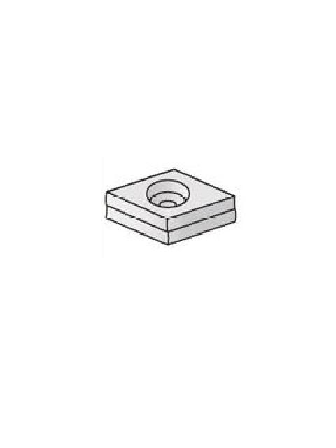 開先加工機用チップ ハタリー精密 HTL 内接円Φ12.7×6.35 1ケース(10ヶ入)