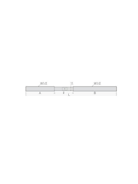 D型ホンタイ(W1/2 ナット別添) (100個入り)