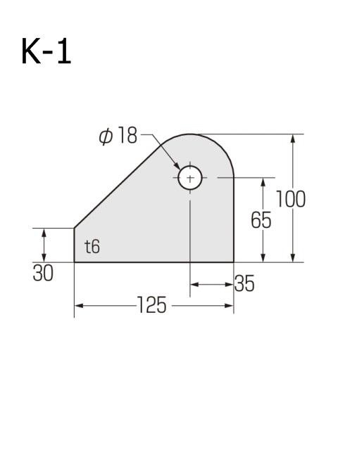 ブレースシート 仮設ハウス用 穴径18mm (ケース販売)