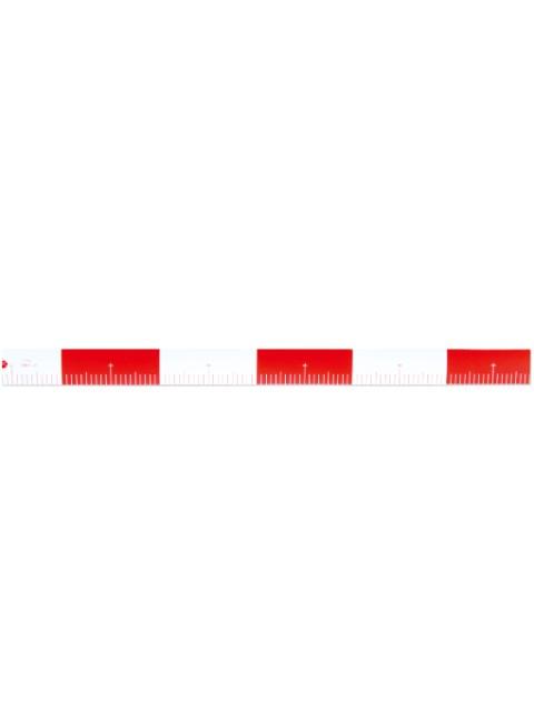 丁張ロッドエコ75 赤白20cm間隔