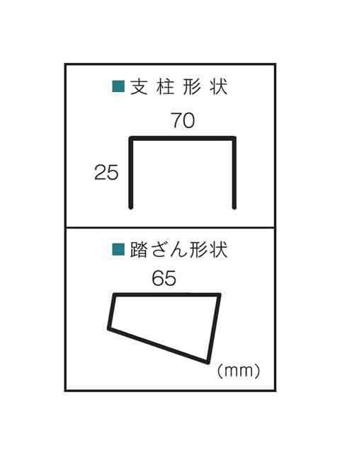 専用脚立(天板幅広) BSW-210A