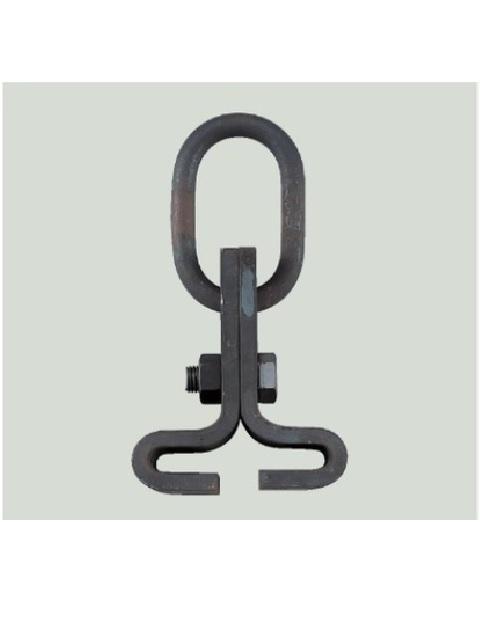 「艤装用吊り具」 ビームクランプ A型 (鉄製生地)