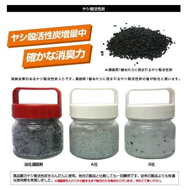 抗菌非常用トイレ凝固剤タイプ30回用(汚物袋付)