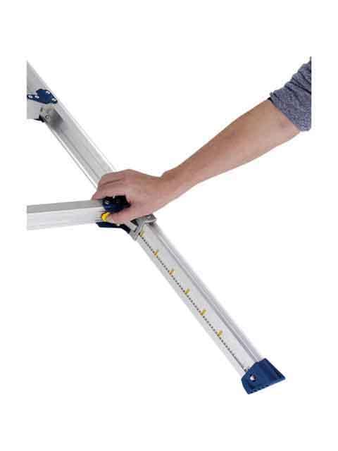 伸縮脚付はしご兼用脚立 PRE-120FX
