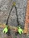 鋼板縦吊り用 チェーンスリングセット 1.0T用