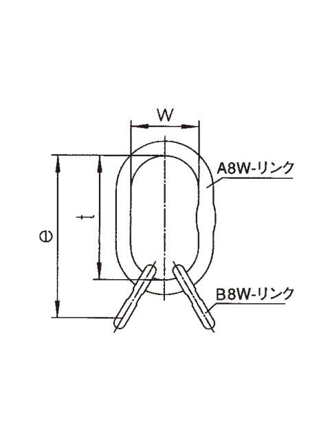 ペワッグ 3-4本吊り用親子リング VW(アイタイプ)