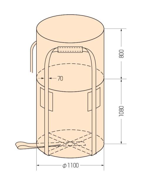 コンテナバッグ KR-2-LT (10枚入り)