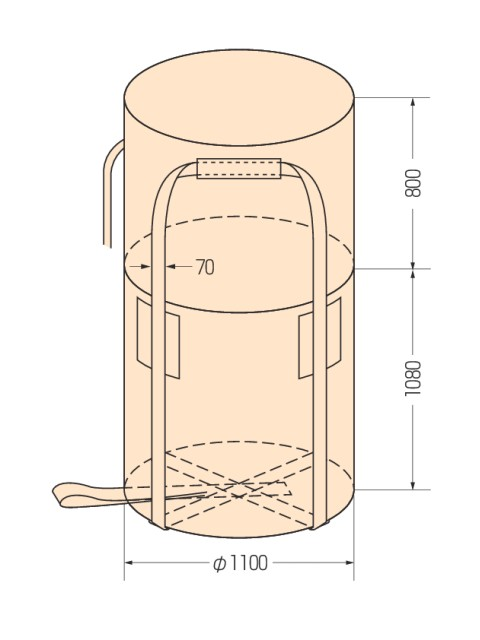 コンテナバッグ KR-2-ST (10枚入り)